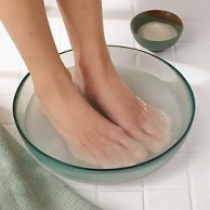 Feet-Soaking-in-Hot-Water